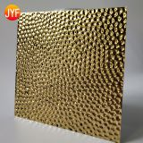 Top quality Deep embossed stainless steel  for decoration interior wall panels