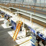 7 Layer Complete Corrugated Cardboard Production Line Wet End and Dry End