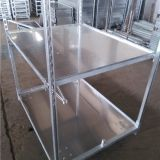 Horticulture logistic trolley display containers