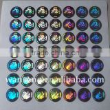 INquiry about 3D custom reflective sticker label hologram sticker with printing logo