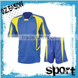 Custom made Fashion blue soccer jersey latest design