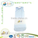 Soft Organic Cotton baby sleeping bag, baby envelope sleeping bag