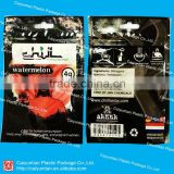 4g Chill watermelon potpourri packaging bag/heat seal black packaging bag