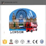 2016 popular resin souvenir fridge magnet cities