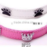 China Black Paw Rivets, Rhinestone Crown Rivets for Pet Collar Accessories