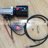 hydraulic tipping kits for dump trailer with hydraulic oil cylinder and hydraulic power pack