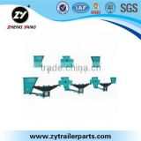 Zhengyang factory anniversary promotion heavy duty suspension for heavy dumper truck trailer