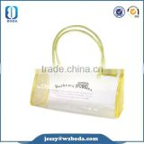 colors piping recyclable cosmetic pvc bag