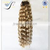 Wholesale best selling deep wave ombre color hair weave fashion human hair extension                                                                                                         Supplier's Choice
