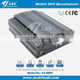 Full D1 HDD 3G Mobile CCTV DVR 4CH HDD MDVR with 3G WIFI GPS                                                                         Quality Choice