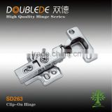 clip-on hydraulic tool box hinges furniture fitting