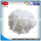 7D/15D hollow conjuagated siliconized wholesale polyester staple fiber for filling pillows