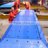 uhmwpe marine fender pad / dock bumpers