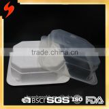 FDA Food Grade Square Microwave Disposable Plastic Tray