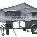 Lightweight Travel Trailers And Off Road Caravan With Slide Out Kitchen