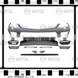 Car Body Kits Front Bumper For Mercedes Benz W204 12-on (C63 AMG Look) ZW
