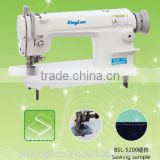 BSL-5200 single needle lockstitch sewing machine with edge-trimmer/single,double needle chain-stitch sewing machine