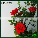 factory wholesale artificial rose tree