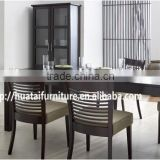Fashion Solid Wood Garden lunch chairs and table,dining chairs,Wood/MDF Dining Table Sets                                                                         Quality Choice