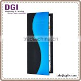quality guarantee factory directed sale menu cover for hotel, creative product menu holder with plastic pages