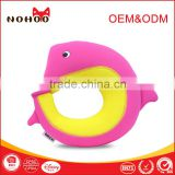 Nohoo new product Kids Cartoon cute and soft U shape Travel neck pillow