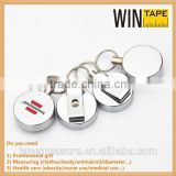 Mini metal magnetic bling retractable badge holder 2014 hot promotional gifts with Your Logo or Name