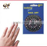 flower 3d nail stickers/nail stickers decoration/nail art christmas decoration