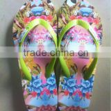 Thermal transfer fashion slipper