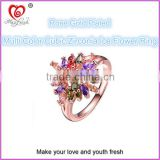 Gorgeous Ring Maxfresh Wholesale Rings Beautiful Design Rings Rose Gold Plating for Lady/Girl
