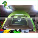 Hongyi Factory 10m Large Inflatable Green Air Dome Tent For Cycling Competition With High Quality