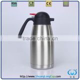 stainless steel thermos coffee & tea pot,thermal coffee carafe