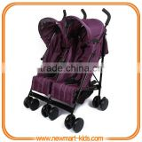 Buggy Side-By-Side Twin Baby Double Stroller,Double Seat Twin Stroller Baby Twins Toddler Side By Side