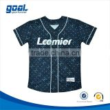 100% polyester customized dri fit softball team names jerseys