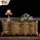 french chateau furniture - baroque hand carving leaf gilding floor cabinet-antique classic furniture cabinet