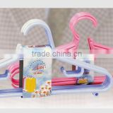 Folding Plastic Clothes Hanger with lots pegs for baby