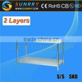 Assembly Line Working Tables/Stainless Steel Washing Tables/Stainless Steel Table Top Chain (SY-WT712 SUNRRY)