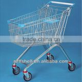 HOT SALE the supermarket racks supermarket shopping trolley made in jangsu china TF-1002