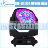China 2016 New Products 37X15W Osram RGBW Big Bee Eye K20 Led Stage Light