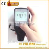 Operate princeple of magnetic induction and eddy current (F&NF Probe) digital coating thickness gauge