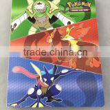 OEM customized Card album with 4-pocket PP portfolios Dongguan factory Pokemon cartoon                                                                         Quality Choice