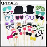 Party Weddings Decoration Moustache Lip Photo Booth Props