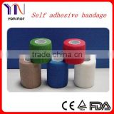 Latex Free Non-woven Cohesive / Self Adhesive Flexible Bandage