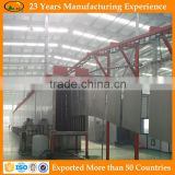 Advanced design automatic powder coating line