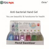 DEXE hand washing gel with water / oem hand cleaning gel factory