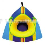Leisure Winter Inflatable Round Snow Tube Sled / Water ski tub