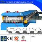 Machine structural stability , Automatic Metal Floor Deck Roll Forming Machine, Stainless,Galvanized steel sheet