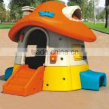 LLDPE Plastic Type and Plastic Frame Material Kids Plastic Playhouse