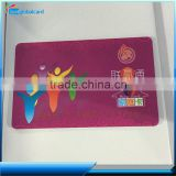 Cheap wholesale CR80 F08 rfid card chip card inkjet printable pvc game card with signature strip