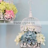 Metal White Wholesale Decorative Bird Cages Wedding
