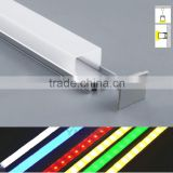 Square ceiling light cover 1000X26.2X23.2MM for 26MM PCB 1/3M led aluminum channel/Led light Strip Bar Aluminum Profile Cover